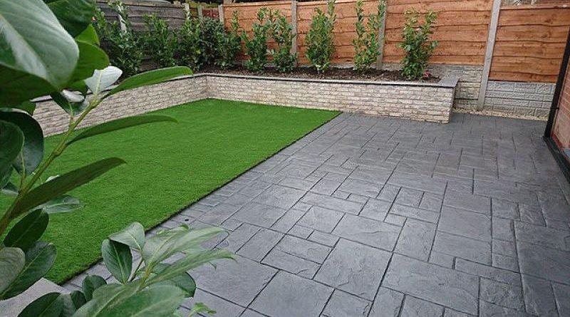 De ce alegem betonul amprentat in curte?
